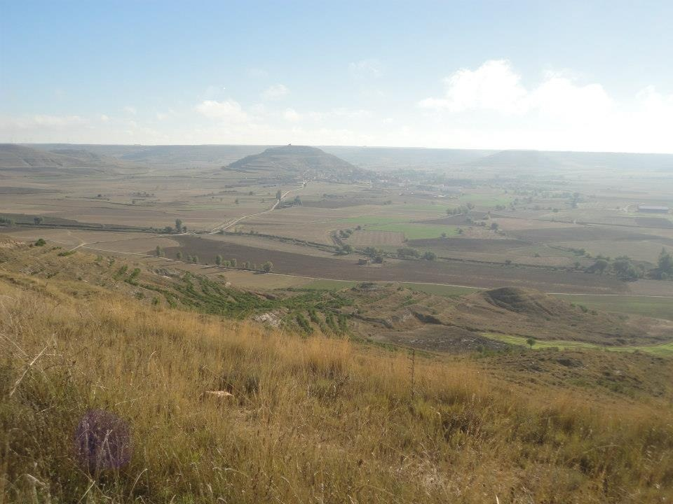 "Alto de Mostelares; View of "" The Granaries of Spain"": The Meseta"