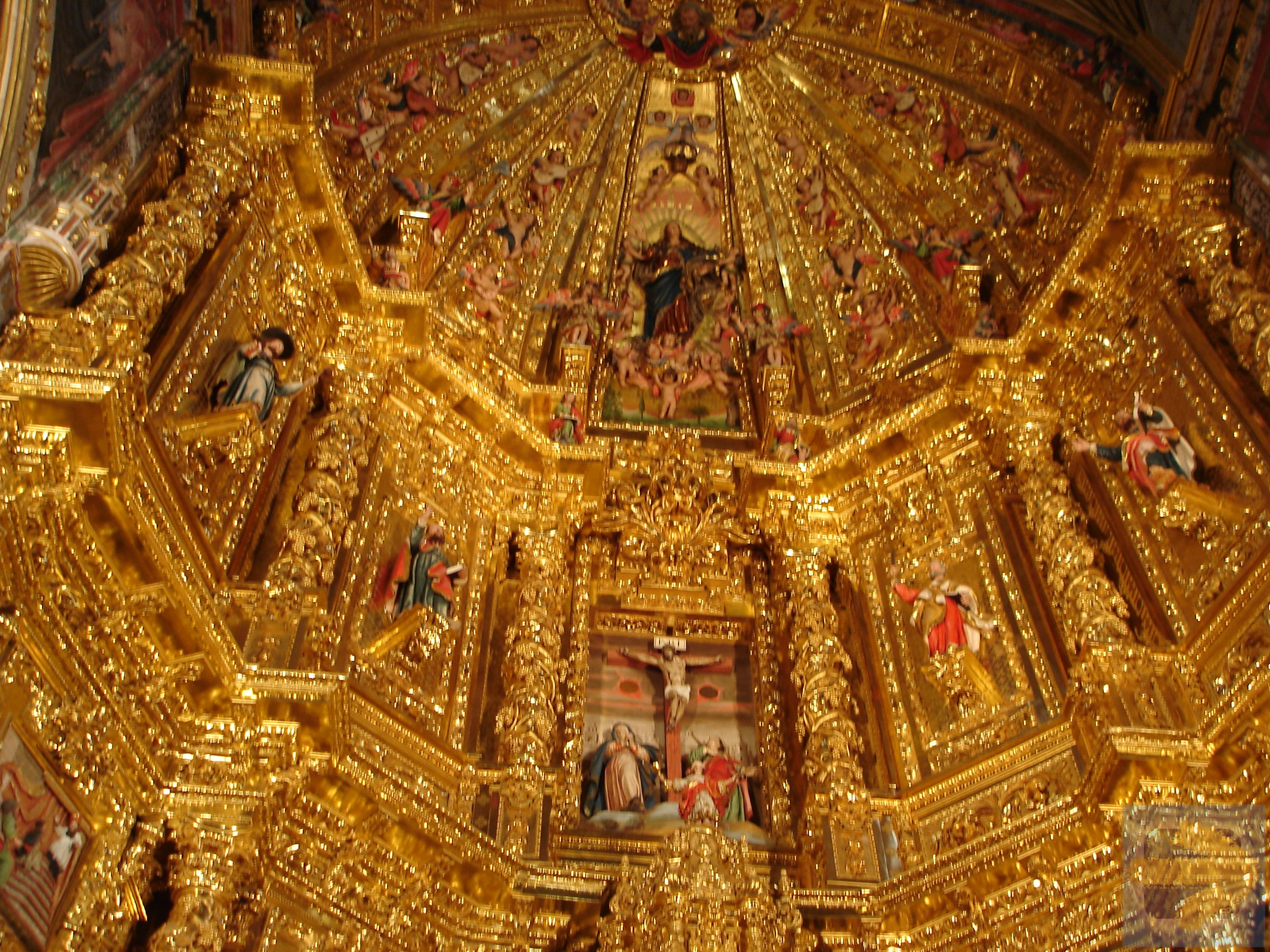 Amazing altar in Navarrete