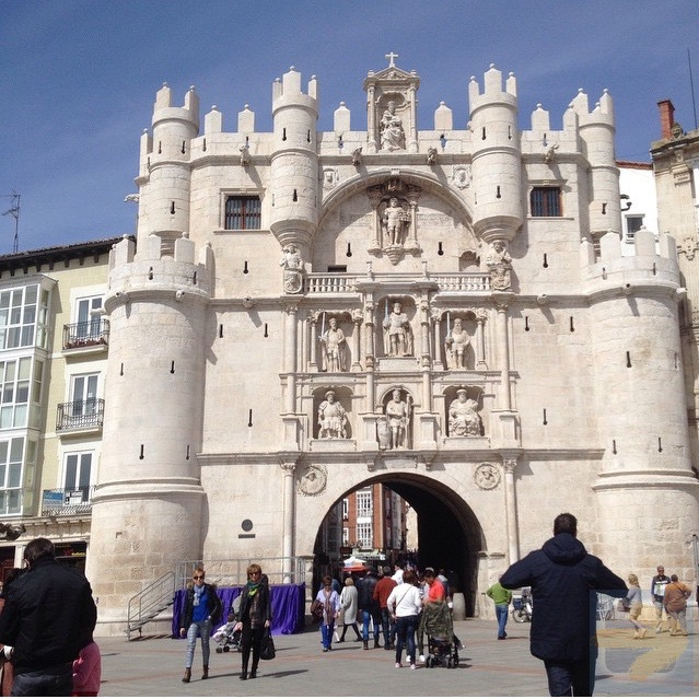 April 3 Arrived Burgos for Good Friday