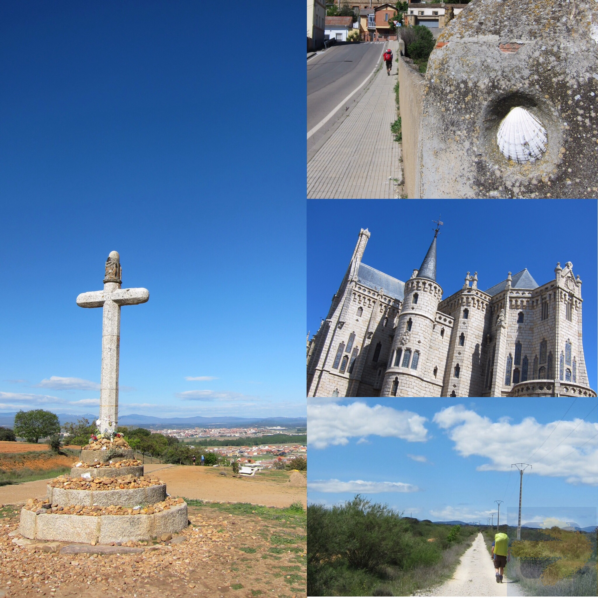 Arriving at and passing Astorga