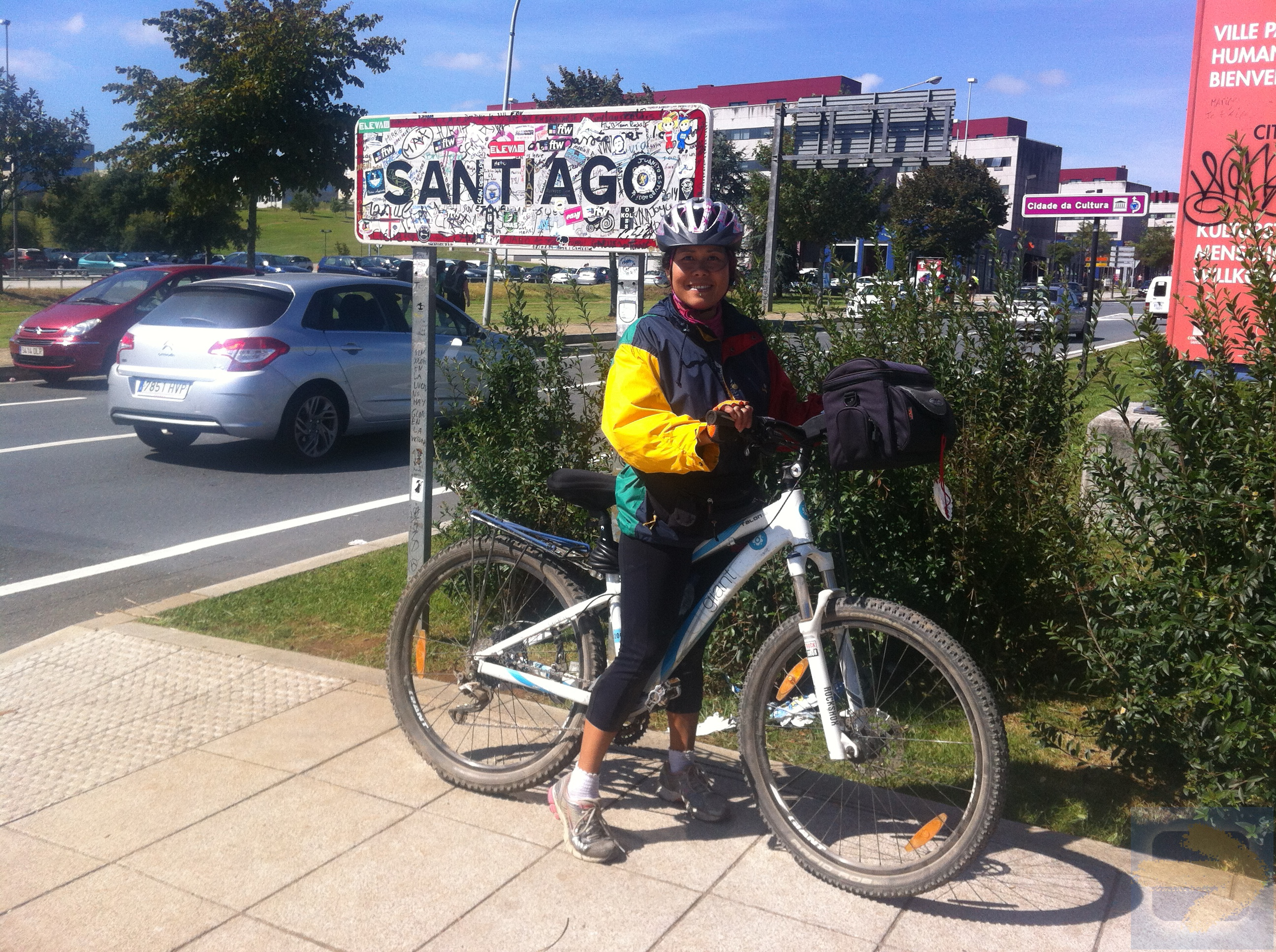 Biking Camino Frances
