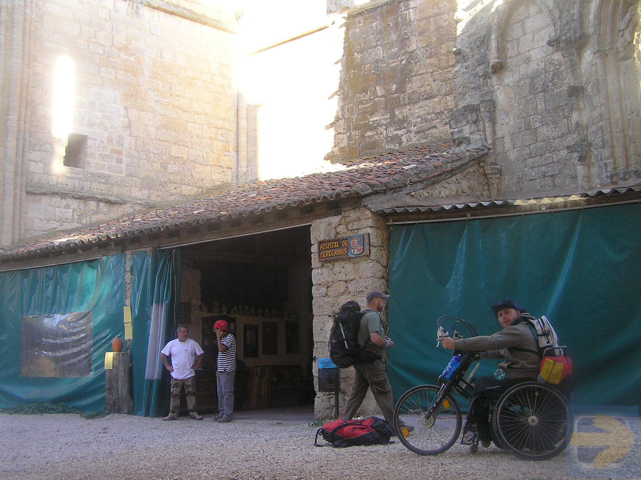 Camino de Santiago for wheelchair users