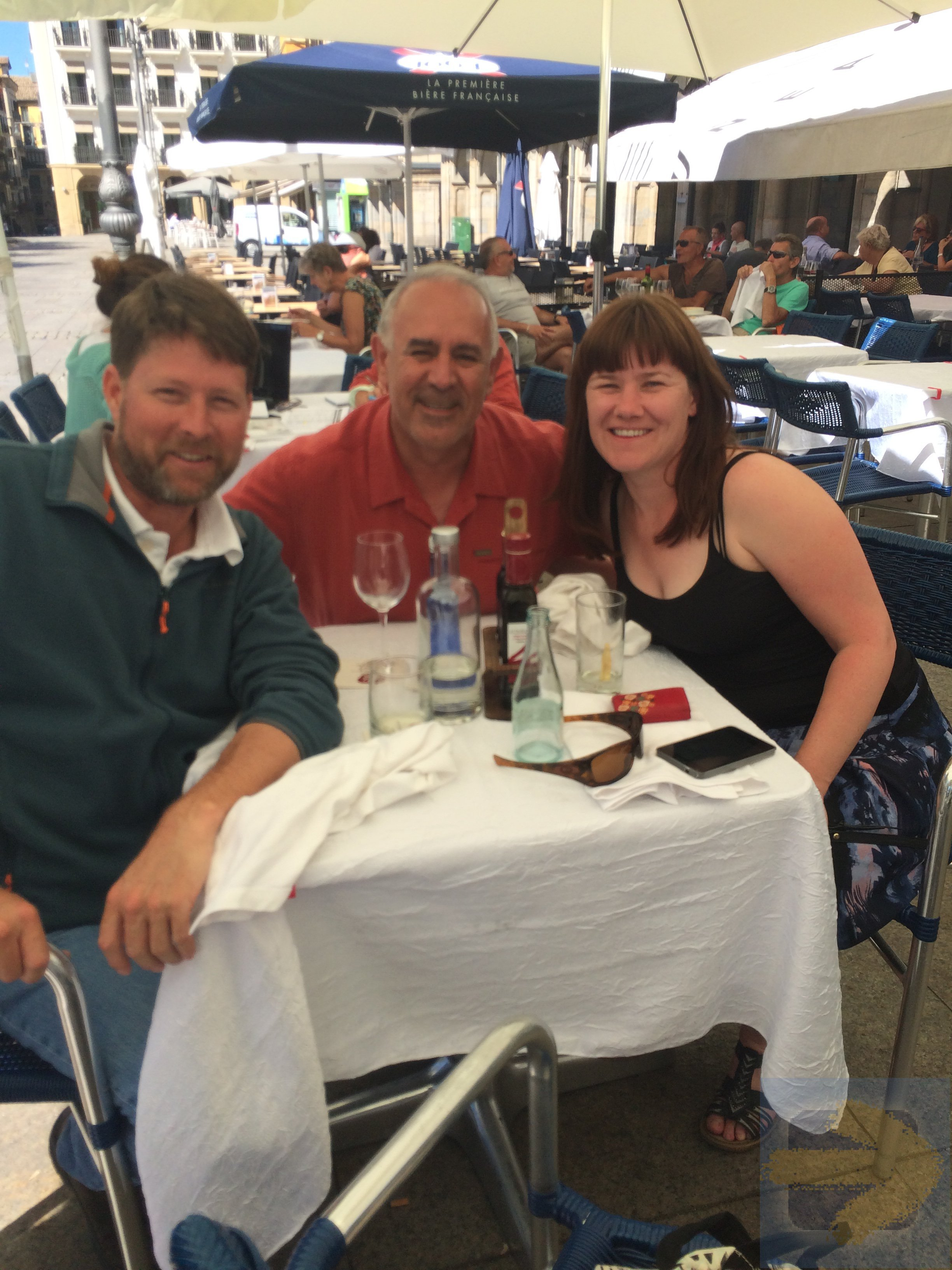 Dining in Pamplona