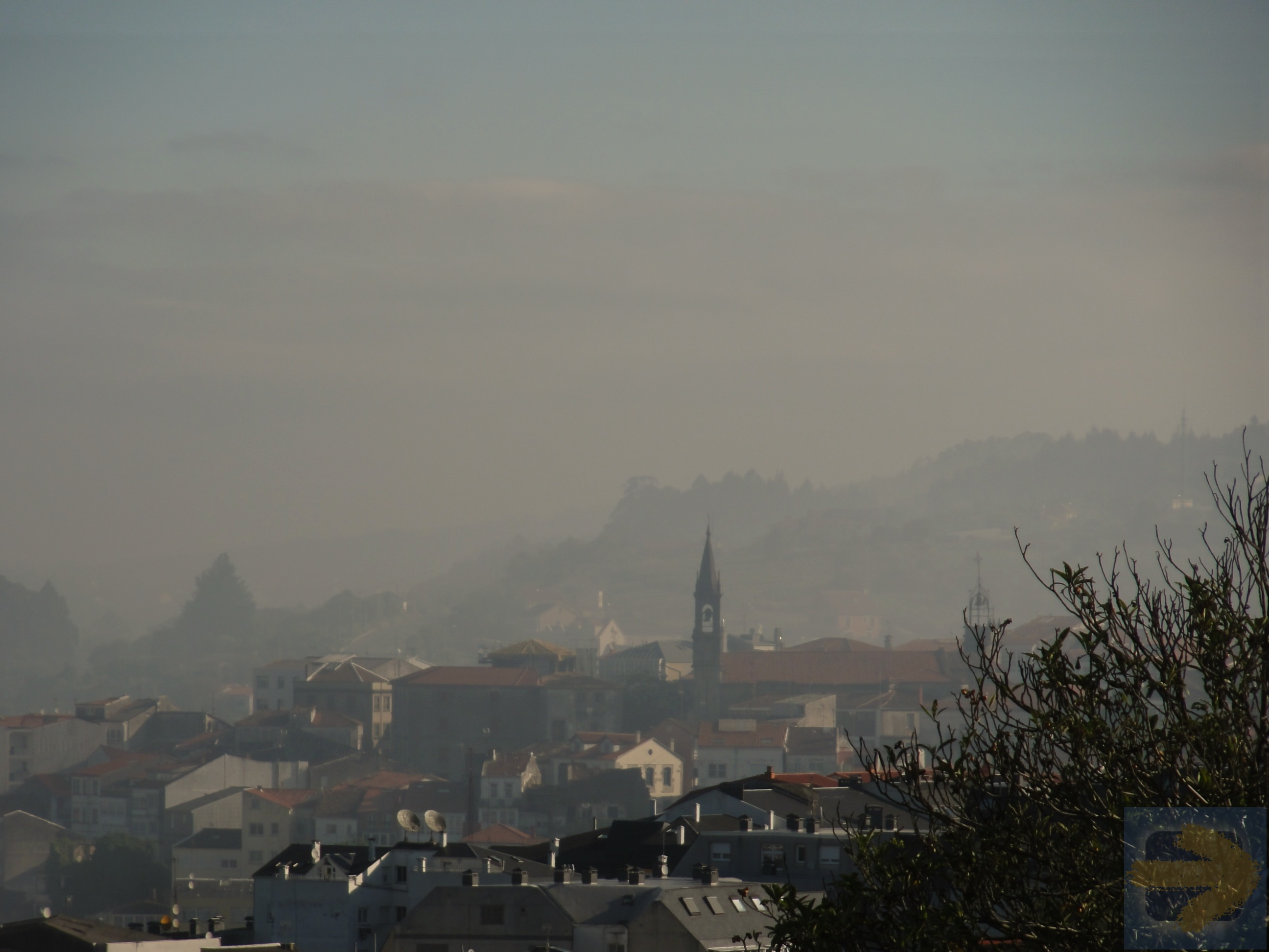 Early morning leaving Betanzos