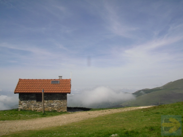 On the top of The  Pyrenees in June 2012