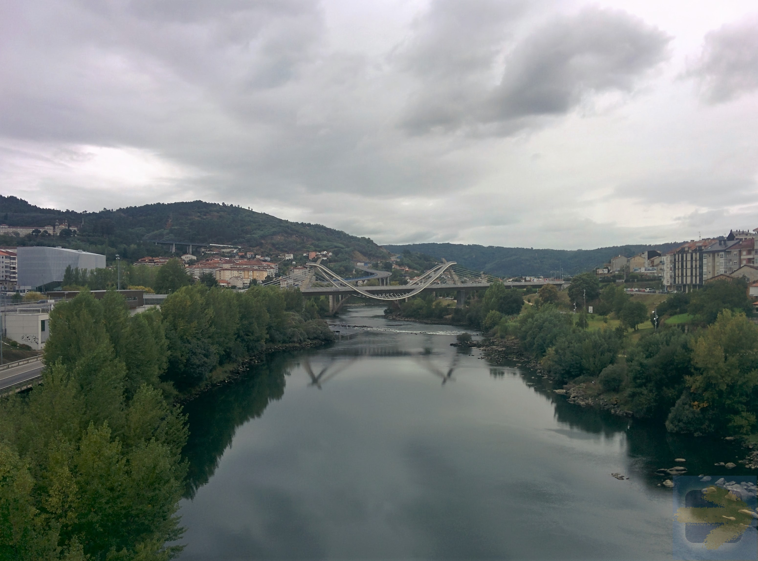 River Miño in Ourense