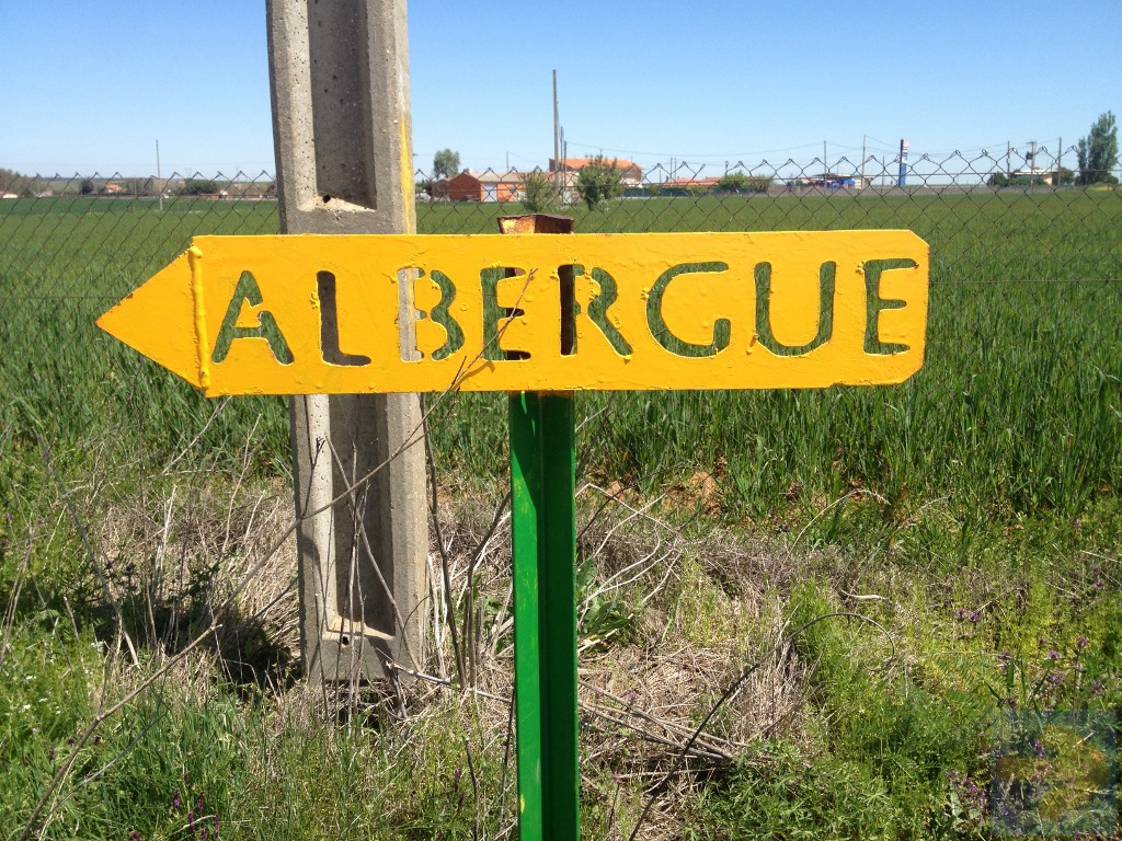 Via de la Plata Albergue Sign