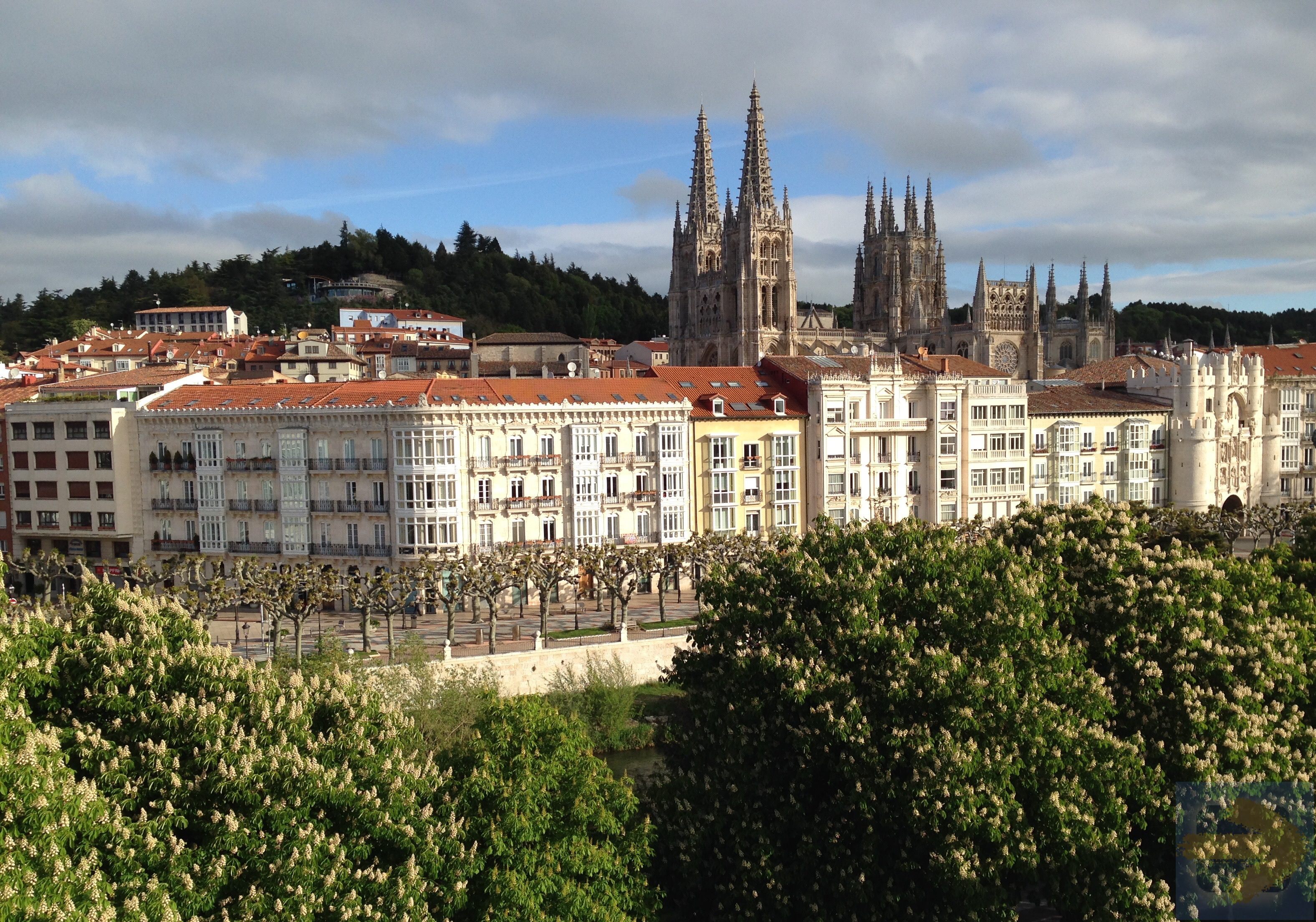 View of Cathedral, Burgos